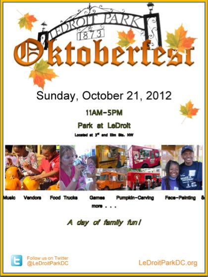 LeDroit Park CA Oktoberfest 2012