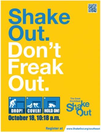 ShakeOut yellow