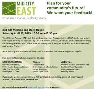 Mark Your Calendar for Saturday, April 27, to Help Plan Our Community's Future