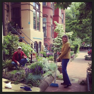 A Look Back at our May LeDroit Park Beautification Day and Community Yard Sale