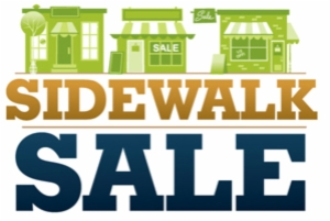 2nd Annual Sidewalk Sale – June 1