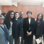 DC Mayor Muriel Bowser and the LeDroit Park Civic Association
