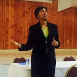 DC Mayor Muriel Bowser at the LeDroit Park Civic Association February Meeting