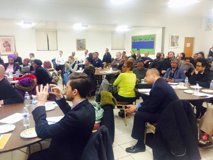 LeDroit Park Residents attend the February LPCA Meeting with special guest Mayor Muriel Bowser