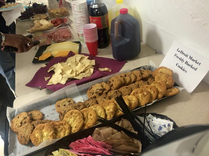 Refreshments for the LPCA February Meeting Provided By the LeDroit Park Market