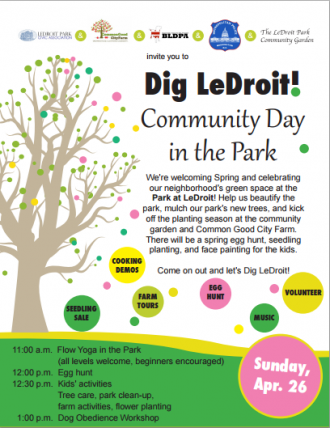 Dig LeDroit Community Day In The Park