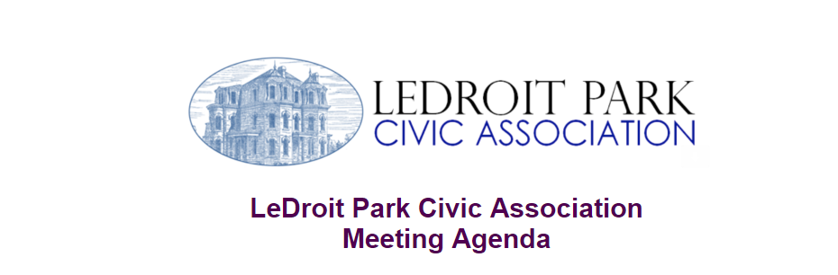 LPCA Meeting Agenda Image