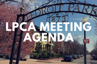 LPCA Meeting Agenda