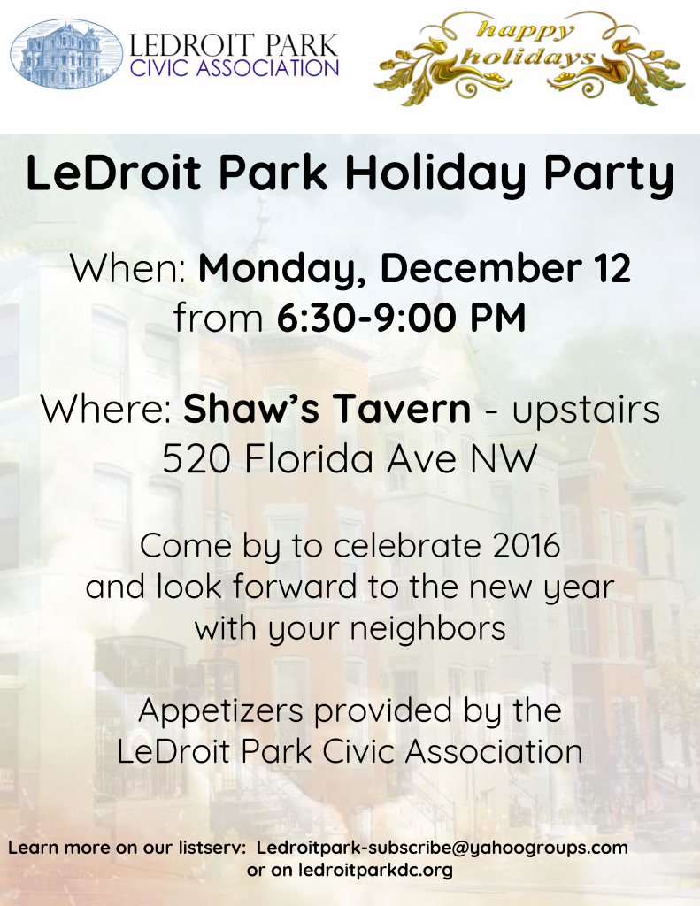 ledroit-park-holiday-party