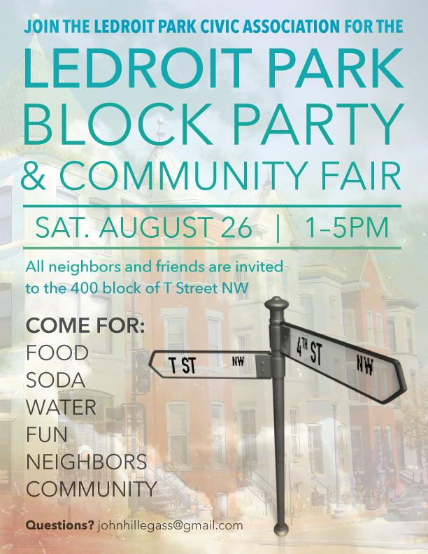 LeDroit Park Block Party & Community Fair