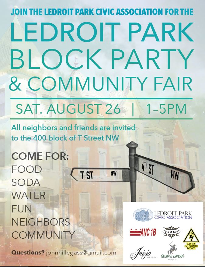 LeDroit Park Block Party & Community Fair