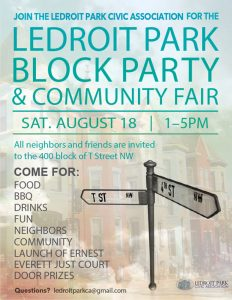 LeDroit Park Block Party