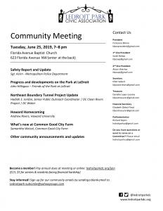 June 2019 LPCA Meeting Agenda